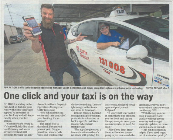 Coffs Taxis App
